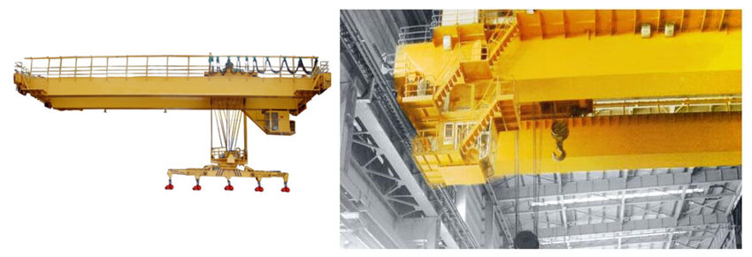 Ellsen Magnetic and Metallurgy Overhead Crane