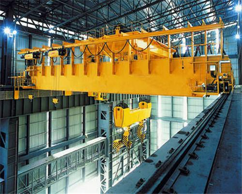 100 ton overhead crane of Ellsen