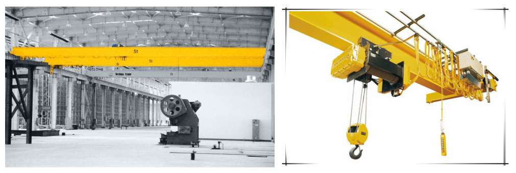Overhead Crane Safety Points : Ton bridge crane from ellsen manufacturer for sale
