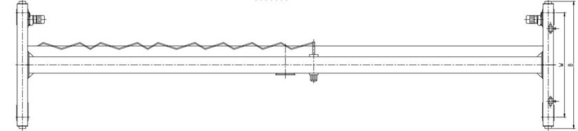 Ellsen LDY Type Single Girder Bridge Crane