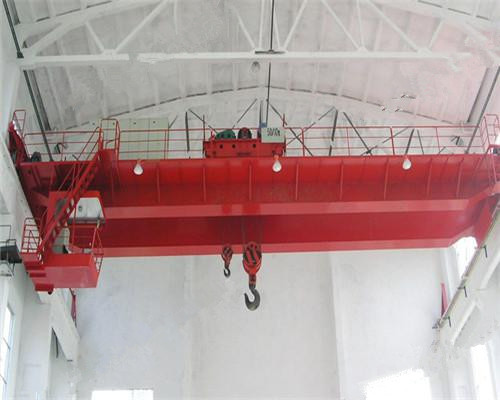 Ellsen QD type double girder overhead crane with double hook for sale