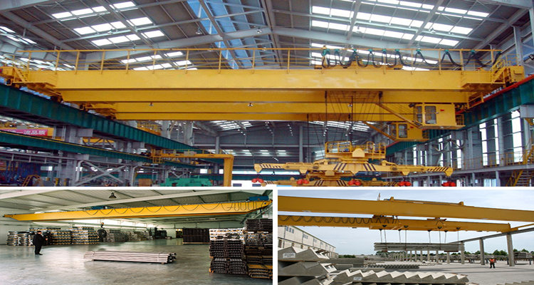 10 ton double beam overhead crane for sale
