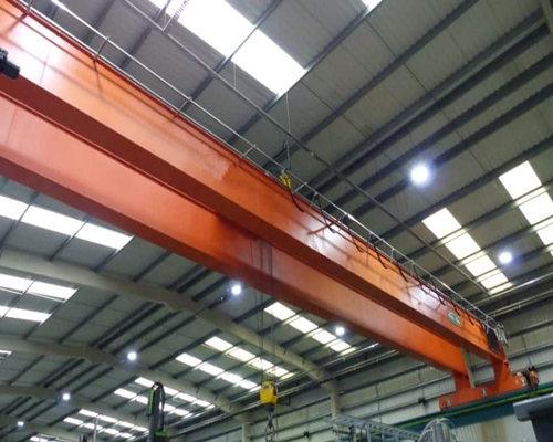 Ellsen QD model double girder bridge crane for sale