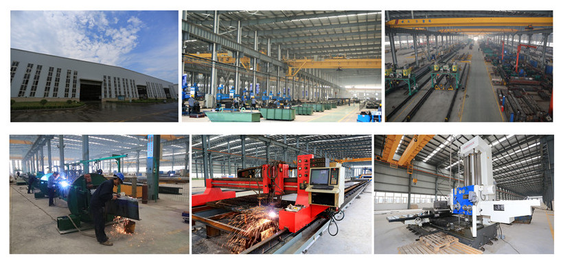 Ellsen industrial overhead crane factory and advanced equipments