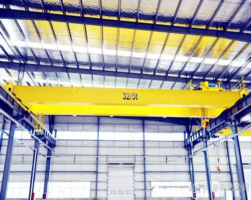 Ellsen rigid steel structure QD type 25 ton bridge crane for sale