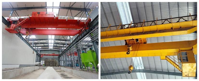 Ellsen double girder electric bridge crane for sale