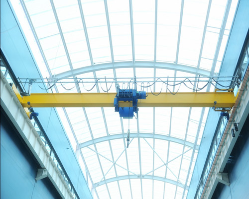 well build single girder overhead crane with electric hoist