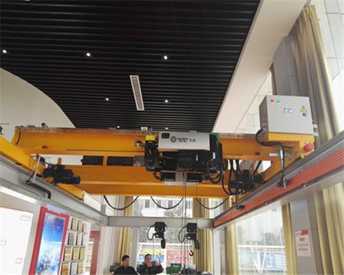 HD type european standard overhead crane