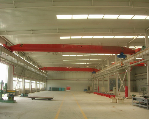 AQ-LD 2 Ton Single Girder Bridge Crane