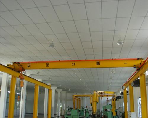 LD type electric single girder 2 ton overhead crane for sale