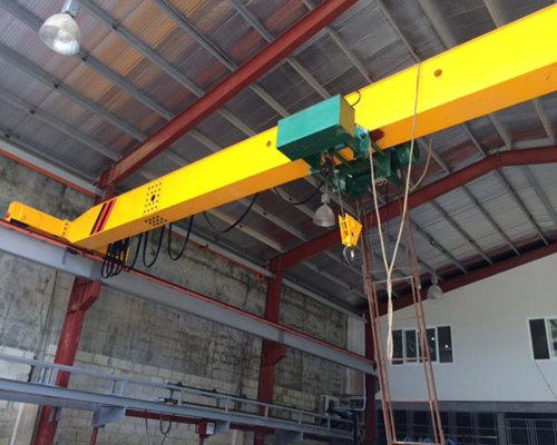 Well build single girder 5 ton overhead crane for sale