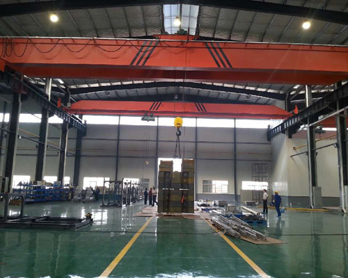 LH type double girder hoist trolley crane for sale