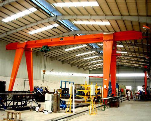MH model Electric Hoist Single Girder Gantry Crane