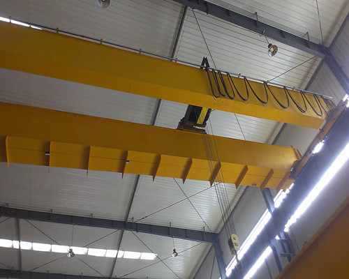 NLH European type electric hoist 50t double girder bridge crane for sale