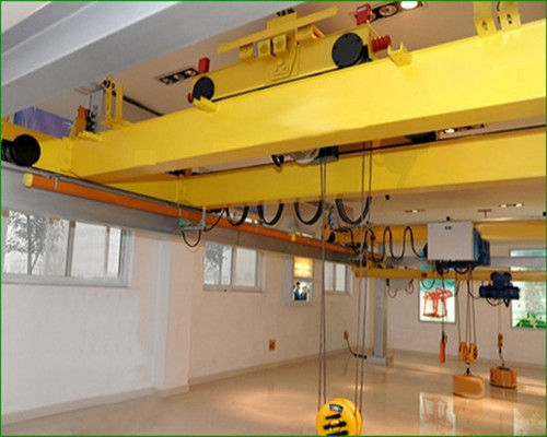 QB explosion-proof 50 tons dual girder eot crane for sale