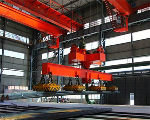AQ-QC Electromagnetic Crane With Carrier-beam