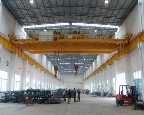 QD type double girder overhead crane 25 ton for sale