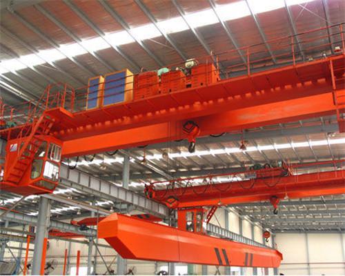 QD type double girder overhead crane with hook
