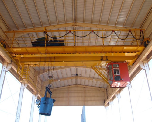 QDY metallurgy double girder bridge crane 50 ton for sale