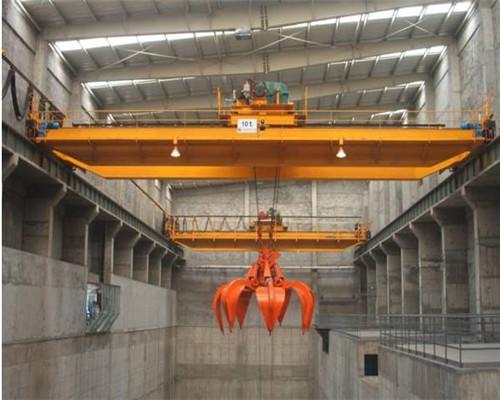 QZ type grab bucket overhead crane