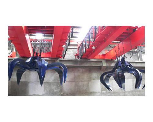 QZ type grab double girder overhead crane 25 ton for sale