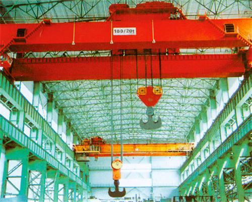 double girder overhead crane with hook