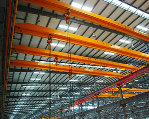 single girder electric hoist crane
