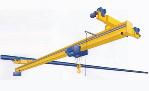 Suspension girder on Ellsen overhead crane