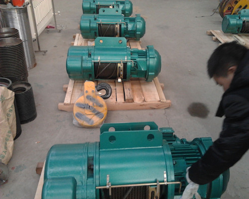 Ellsen CD type electric hoist for cranes for sale