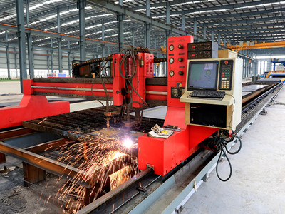 Digit fire cuting machine for overhead crane