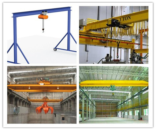 Ellsen many kinds of overhead bridge crane for sale