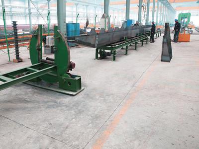 Overhead crane girder produce line