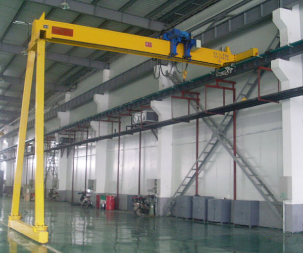 LDP electric hoist single girder crane bridge for sale