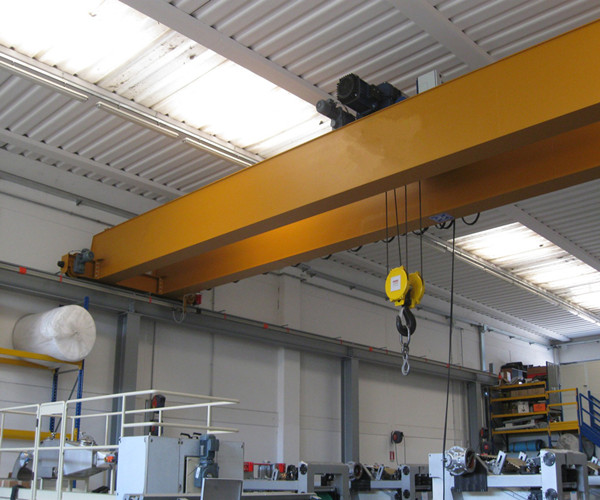 LH electric hoist double girder bridge crane for sale