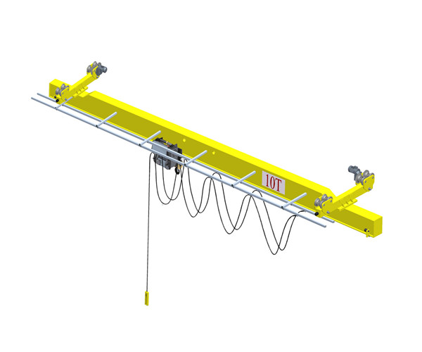 LX European type single girder bridge crane for sale