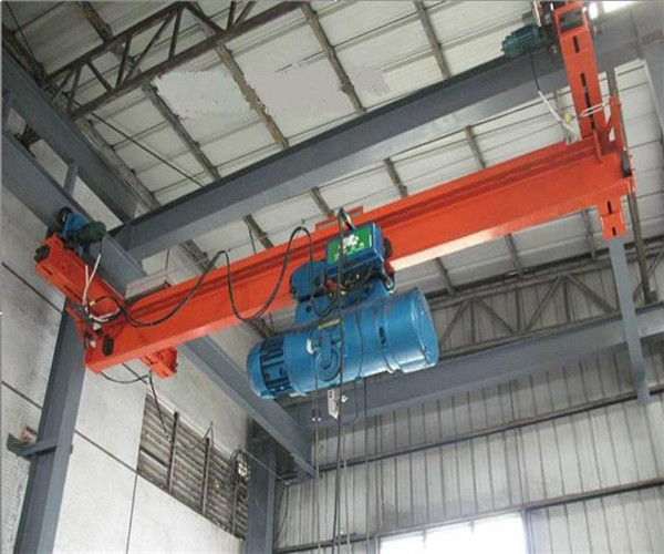 LX type single girder under hung overhead crane for sale