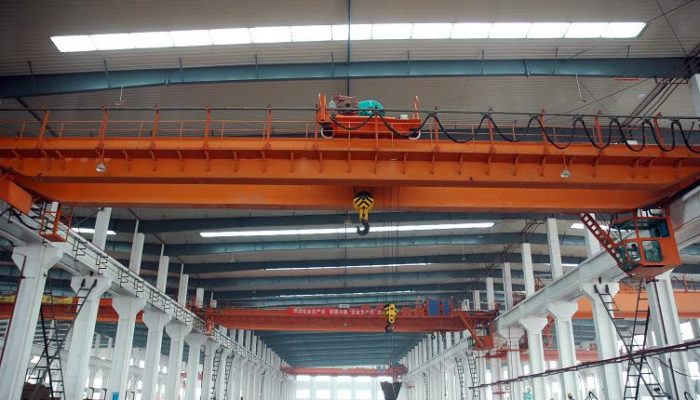AQ-QD double girder overhead crane for stone factory