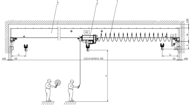 AQ-HD overhead crane design project