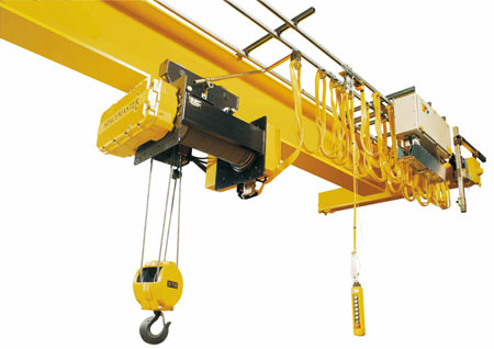 Ellsen classical warehosue single girder overhead crane for sale