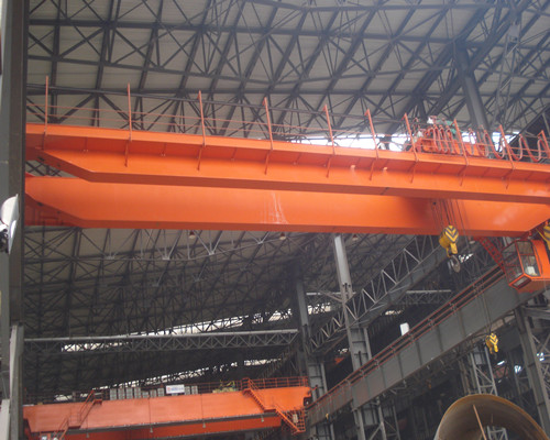100t overhead crane for steel factory