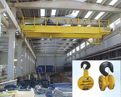 Ellsen 35 ton warehouse hook double girder overhead crane for sale