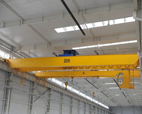 Ellsen European type NLH double girder bridge crane with two or one hook for sale
