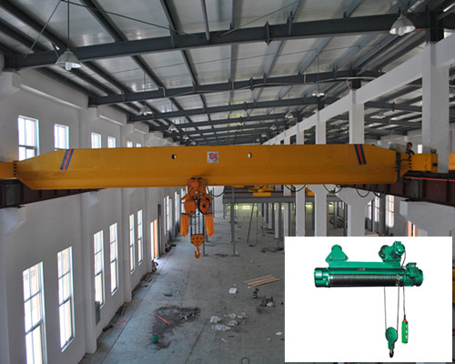 Ellsen LB warehouse electric explosion-proof single girder overhead crane for sale