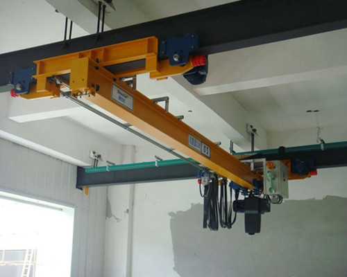 Ellsen LX underhung warehouse European singlr girder overhead crane for sale
