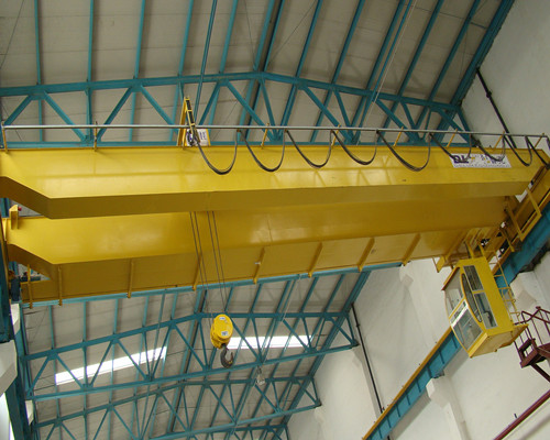 Ellsen QD type European electric hoist overhead bridge crane 100 ton for sale
