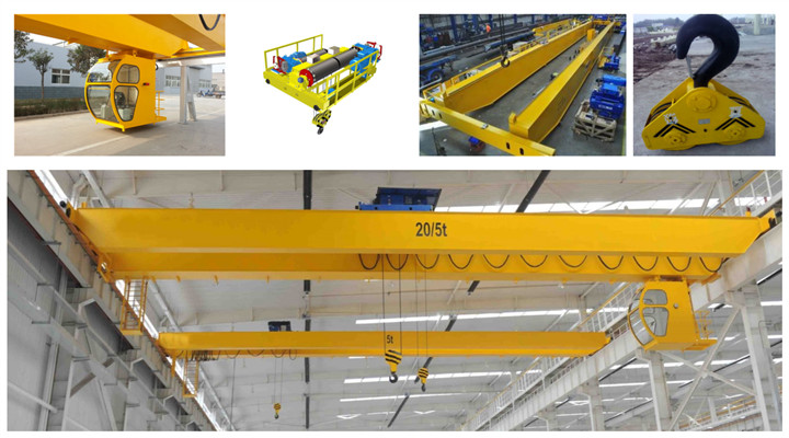 Ellsen classical warehosue European double girder overhead crane