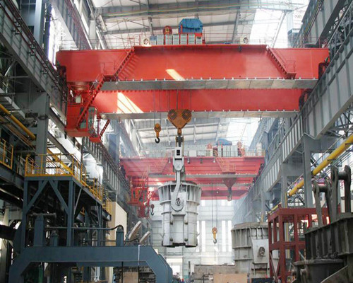 Ellsen double girder low price overhead crane with hook for sale