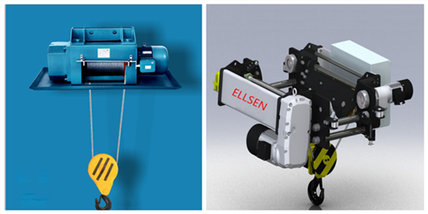 Ellsen high quality explosion-proof electric hoist and European electric hoist for sale