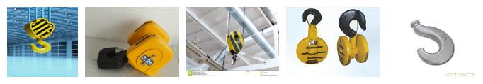 Ellsen kinds of warehouse double girder bridge crane hook