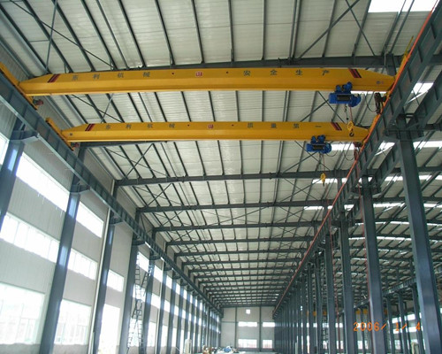 Ellsen low price LDY warehosue single girder overhead crane for sale